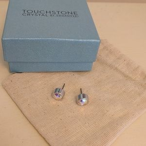Swarovski Touchstone crystal ice earrings